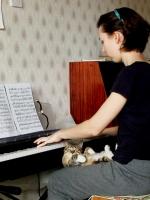 Уроки музыки в новом доме