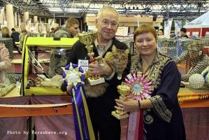 Шуберт победитель Gen.Best c И.В.Чухвичёвой и хозяином